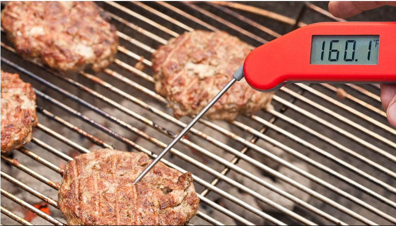 grill thermometer burger