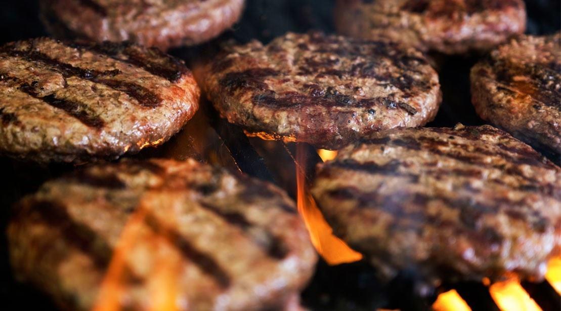 Hot Grilled Burger