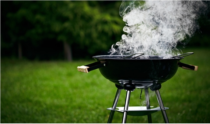 charcoal grill without lid