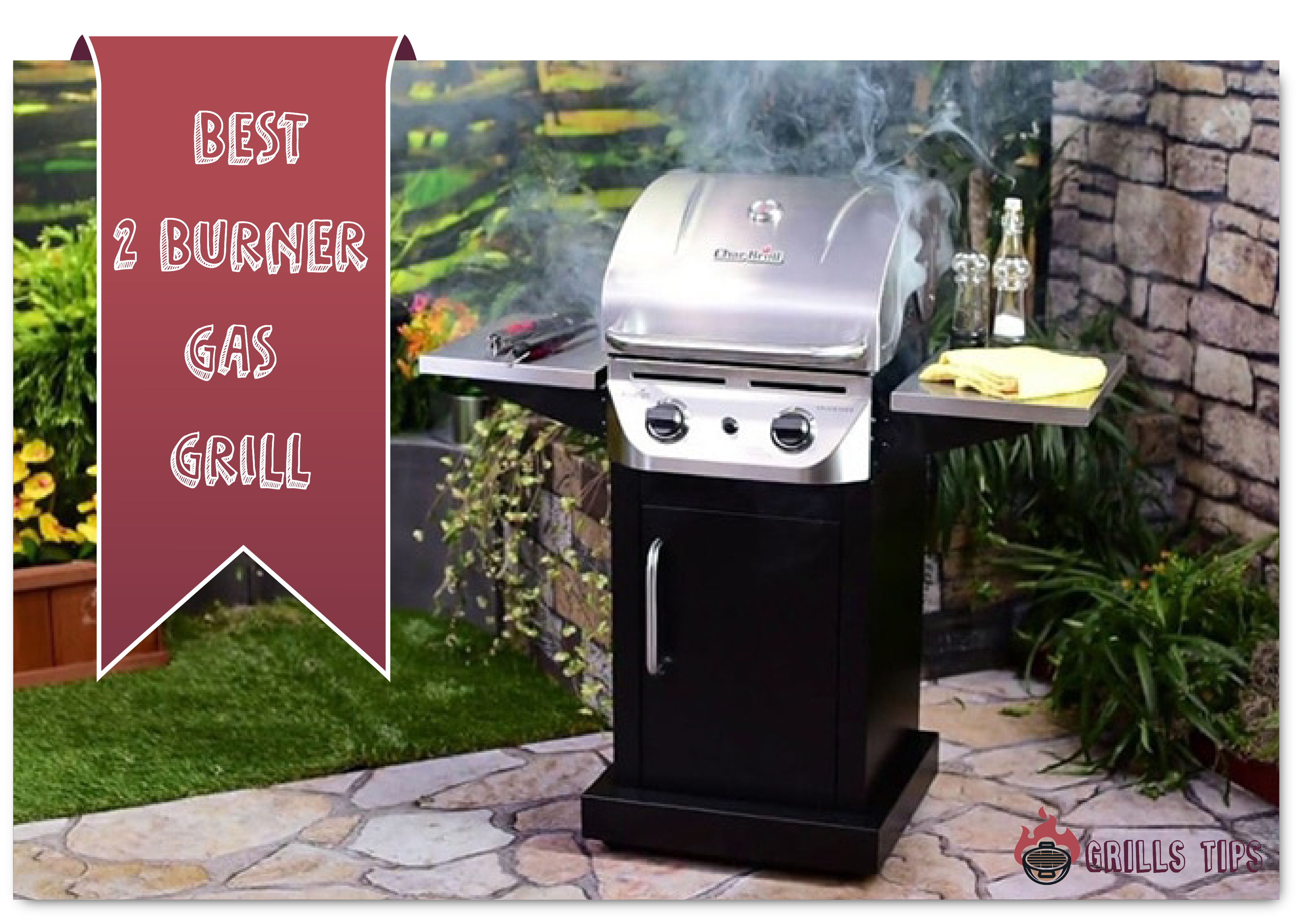 BEST TWO BURNER GAS GRILL