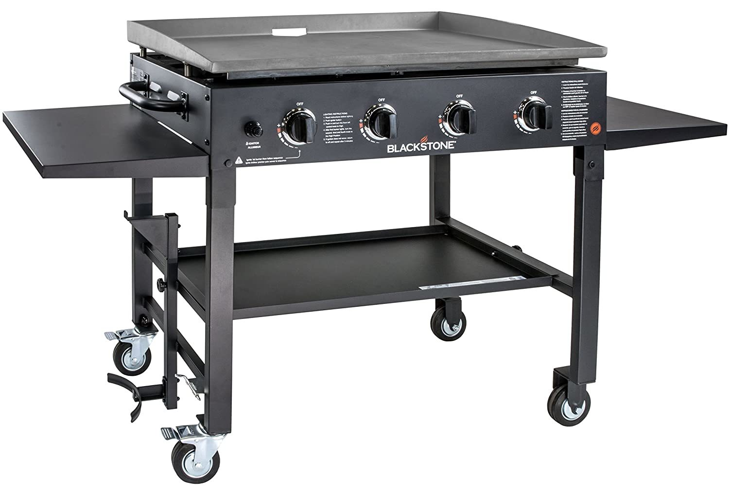 """2. Blackstone 36"""" Outdoor Flat Top Gas Grill Griddle Station"""