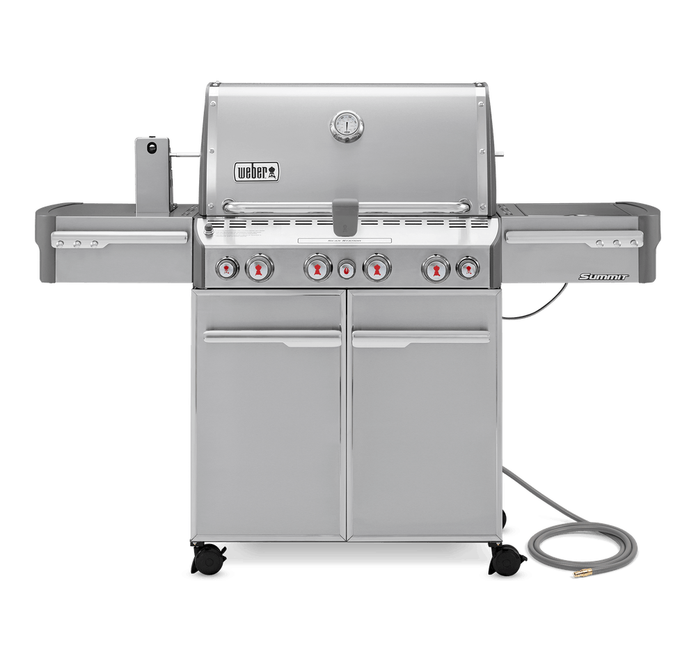 Weber Summit S-470 Stainless Steel Gas Grill