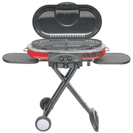 1.Coleman RoadTrip 285 Portable Stand-Up Propane Grill