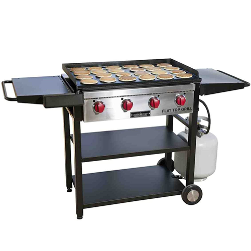 3. Camp Chef 2-in-1 Flat Top Griddle and Grill