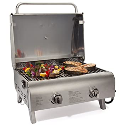 4. Cuisinart CGG-306 Professional Tabletop Gas Grill