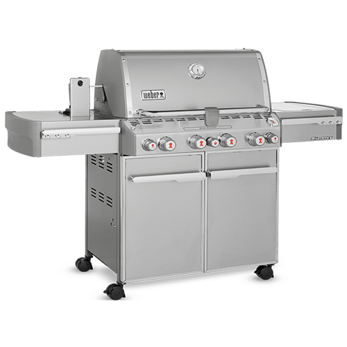 2.Weber Summit S-670 Stainless-Steel Gas Grills