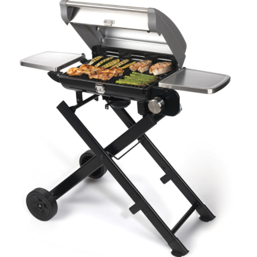 6. Cuisinart CGG-240 All Foods Roll-Away Stainless Steel Gas Grill
