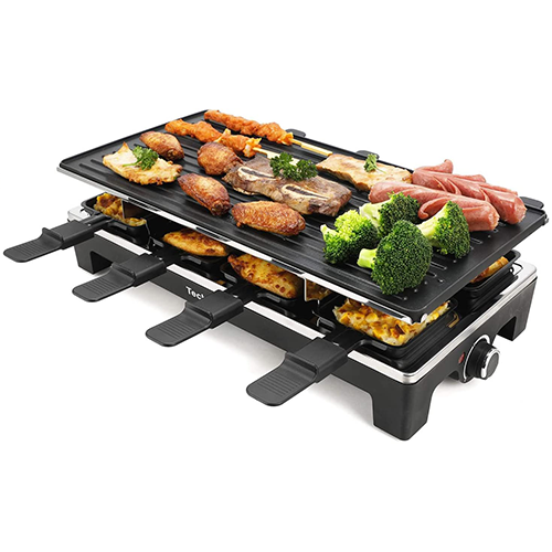 7. Techwood Electric Raclette Grill