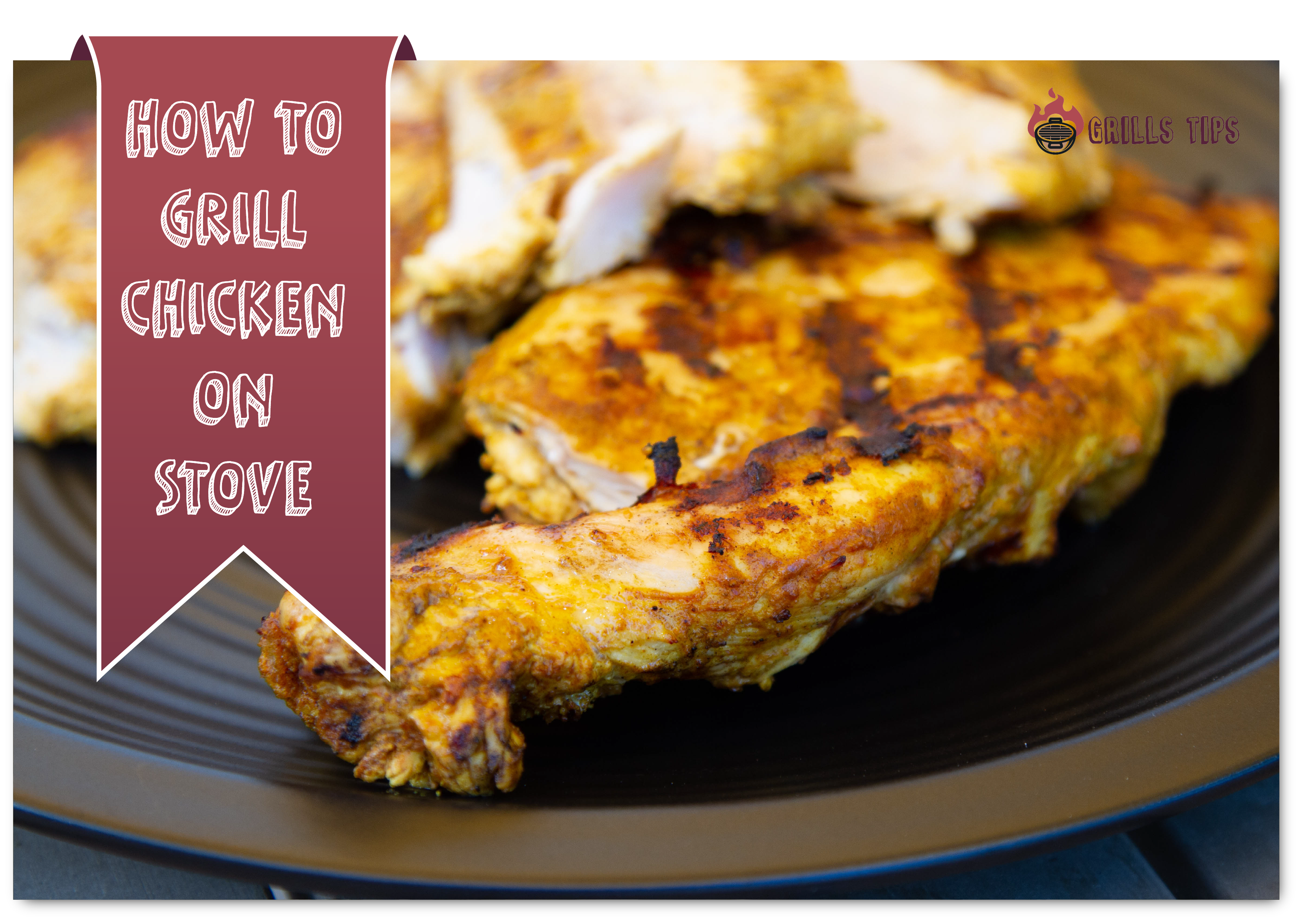 how to grill chicken on stove
